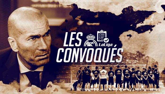 Real Sociedad Calendrier.Real Madrid Real Sociedad Les Convoques